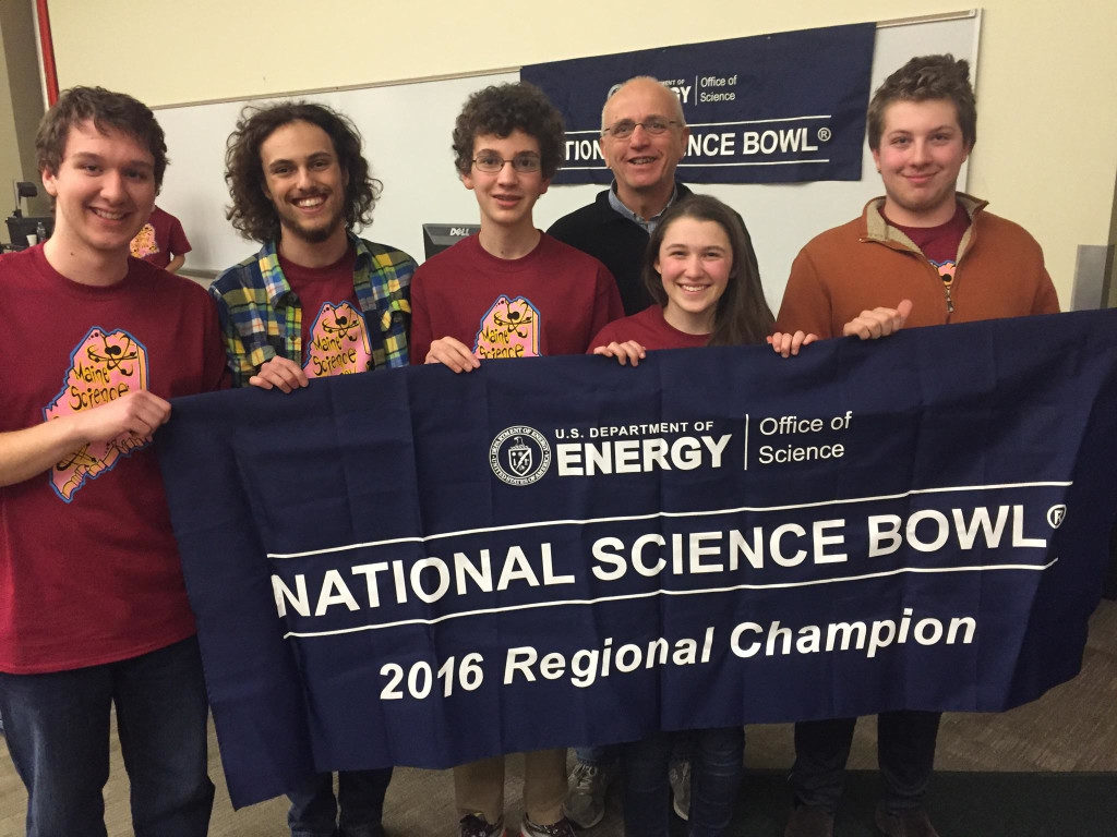 2016 Maine State Science Bowl Champions